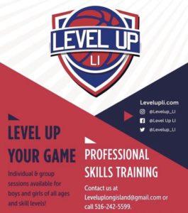 Level Up Training Flyer