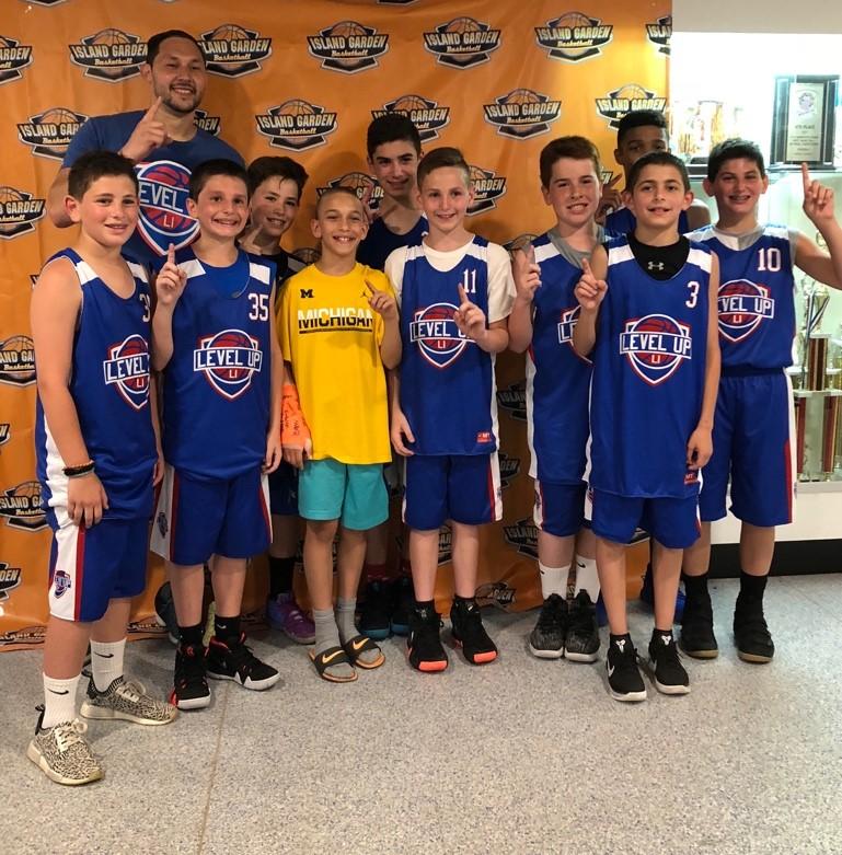 Spring 2018: 6th Grade Boys – Blue TeamIsland Garden Spring League Champions
