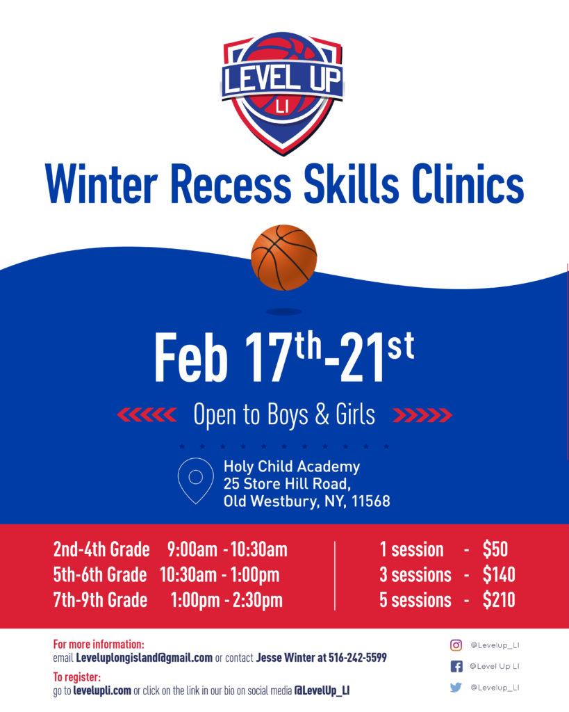 Winter Recess Skills Clinic