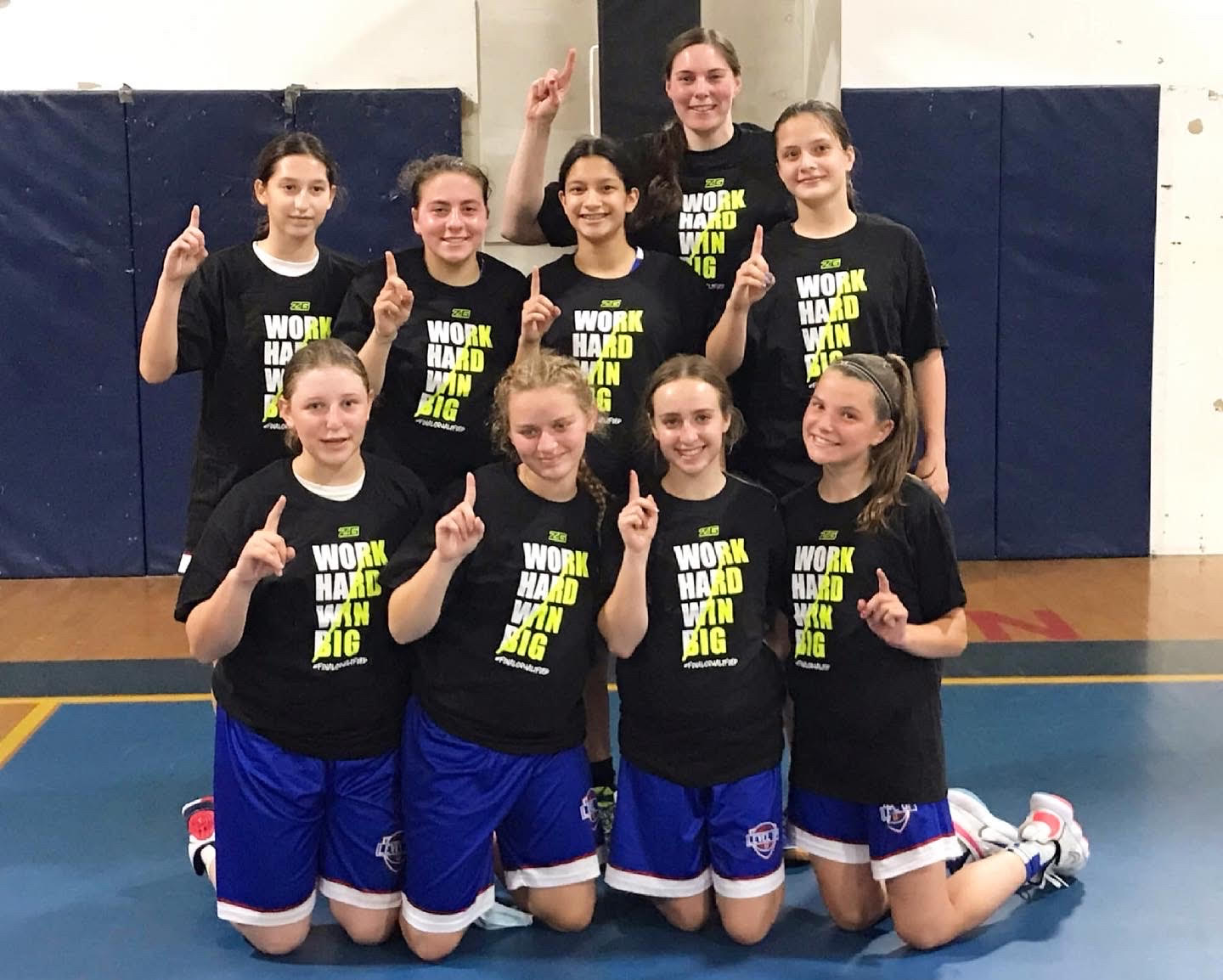 Think Pink 9th Grade Girls Champs