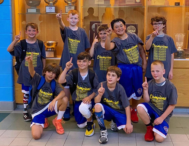 3rd Grade Boys - White Championship