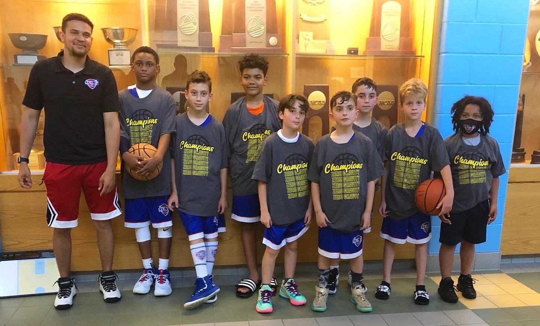 4th Grade Boys - Blue Championship